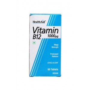 Healthaid Vitamin B12 1000Mcg Mega Strength 60 Tablets
