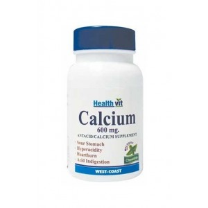 Healthvit Calvitan-600 Calcium Carbonate 600mg 60 Tablets