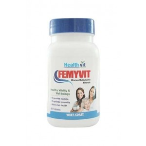 Healthvit Femyvit Women Multivitamin Minerals 60 Tablets