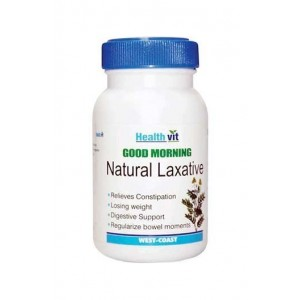 Healthvit Good Morning Natural Laxative Tablets - Pack of 2