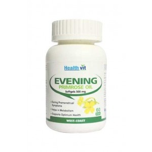 Healthvit Evening Primrose Oil 60 Softgel