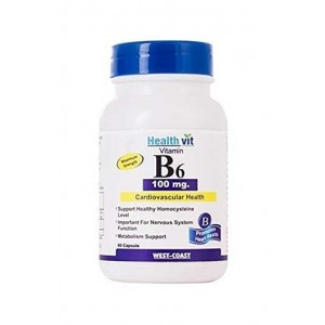 Healthvit Vitamin B6 100 Mg...