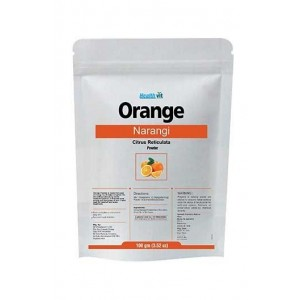 Healthvit Orange Peel /Narangi (Citrus Reticalata) Powder 100Gms