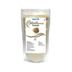 Healthvit Musli White Powder 100Gms
