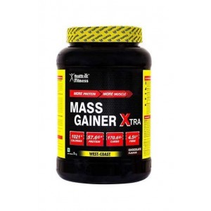 Healthvit Mass Gainer Xtra Chocolate Flavour 1Kg