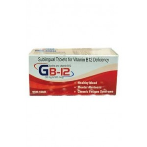 Westcoast Gb-12 Sublingual Tablets