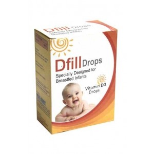 Westcoast Dfill Vitamin D3 Drops For Breastfed Infants