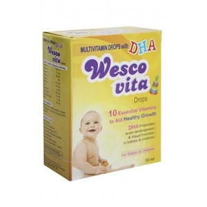 Westcoast Wesco Vita Drops Multivitamin Drops With Dha