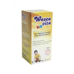 Westcoast Wescovita Kids Multivitamin & Minerals Tablets
