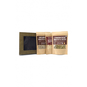 Naturally Yours Healthy Seeds Gift Hamper-Roasted And Salted