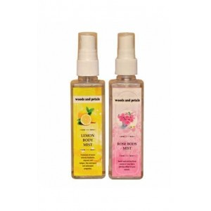 Woods And Petals  Rose + Lemon Body Mist