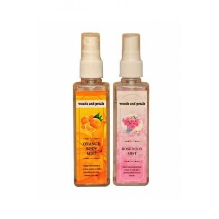 Woods And Petals  Rose + Orange Body Mist