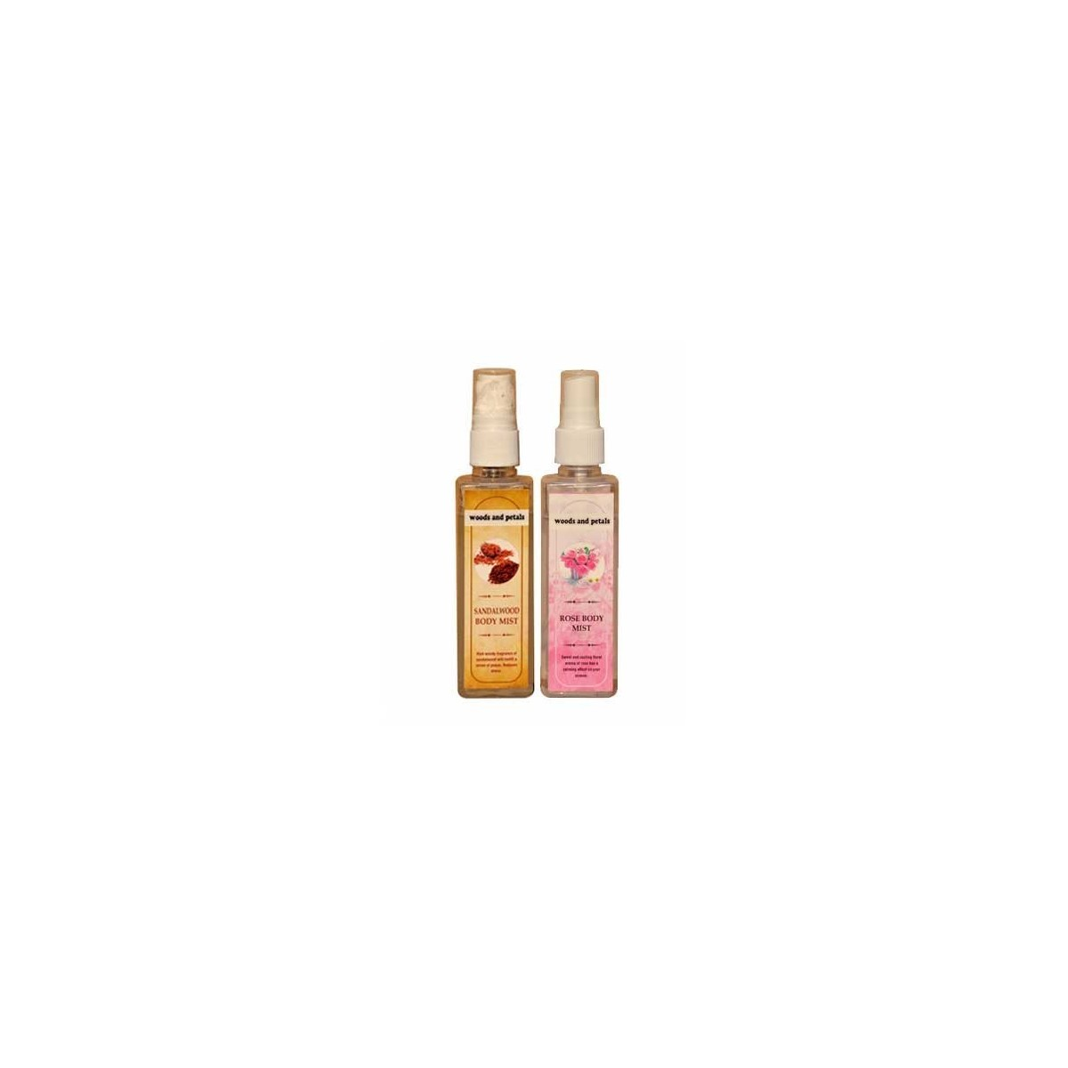 Woods And Petals  Sandalwood + Rose Body Mist