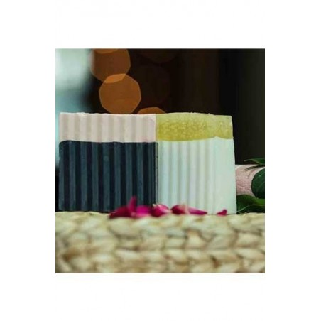 Woods And Petals  Bamboo Wood Charcoal And Honey Coconut Soap Combo