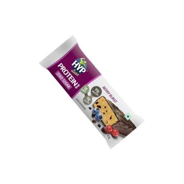 Hyp Berry Burst - Sugar Free Protein Snack Bars (Box Of 6 Bars)
