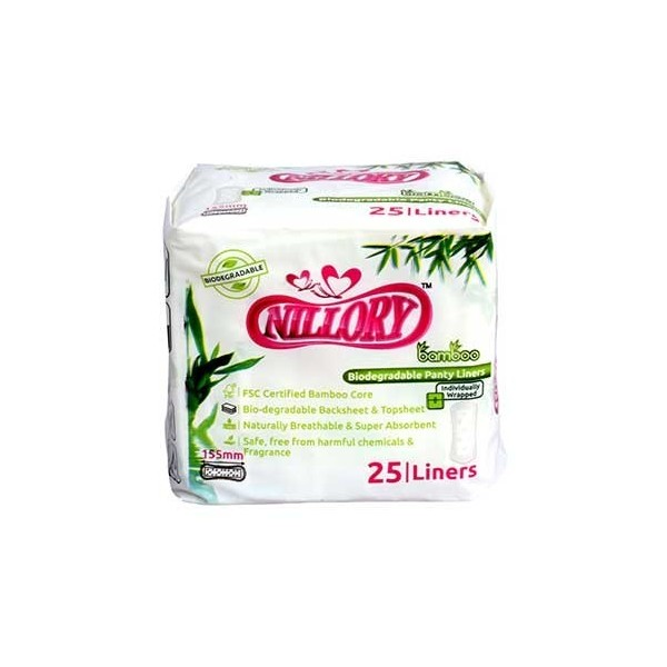 Rama Lifesciences Nillory Bamboo Core Biodegradable Panty Liner