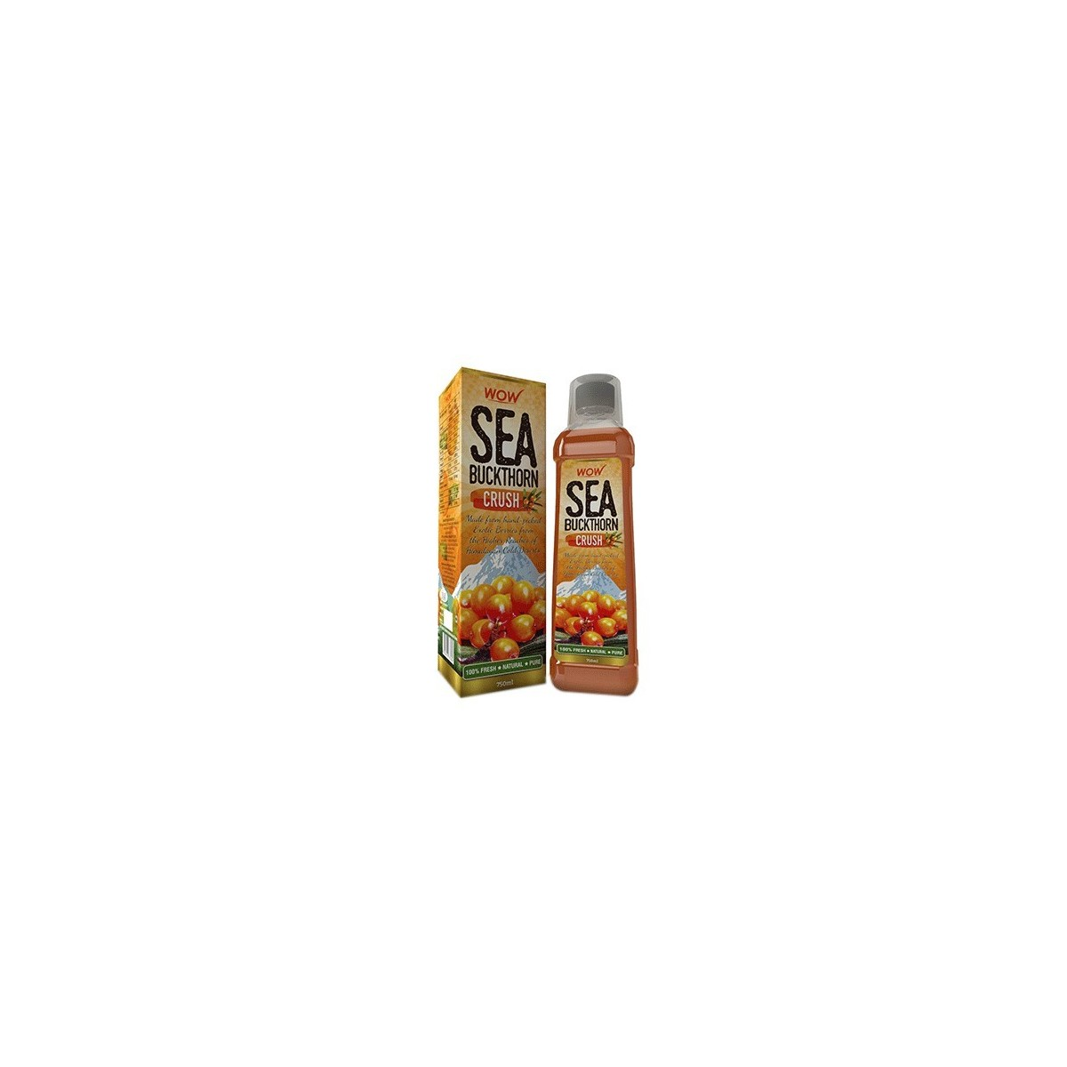 Wow Sea Buckthorn Crush (Pack Of 1)