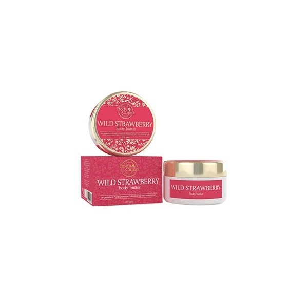 Body Cupid Body Butter - Wild Strawberry - 250 Gms