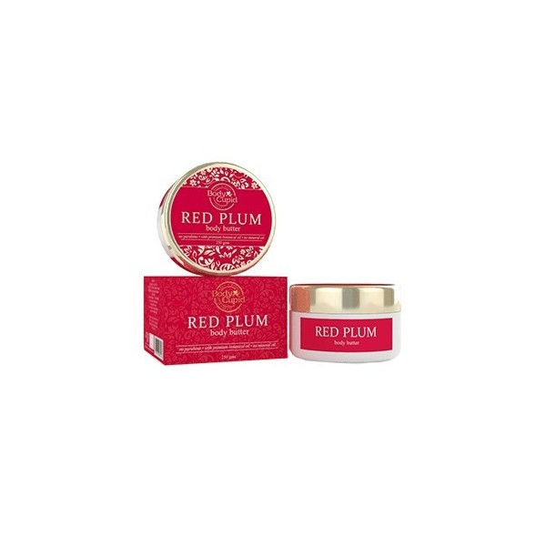 Body Cupid Body Butter - Red Plum - 250 Gms