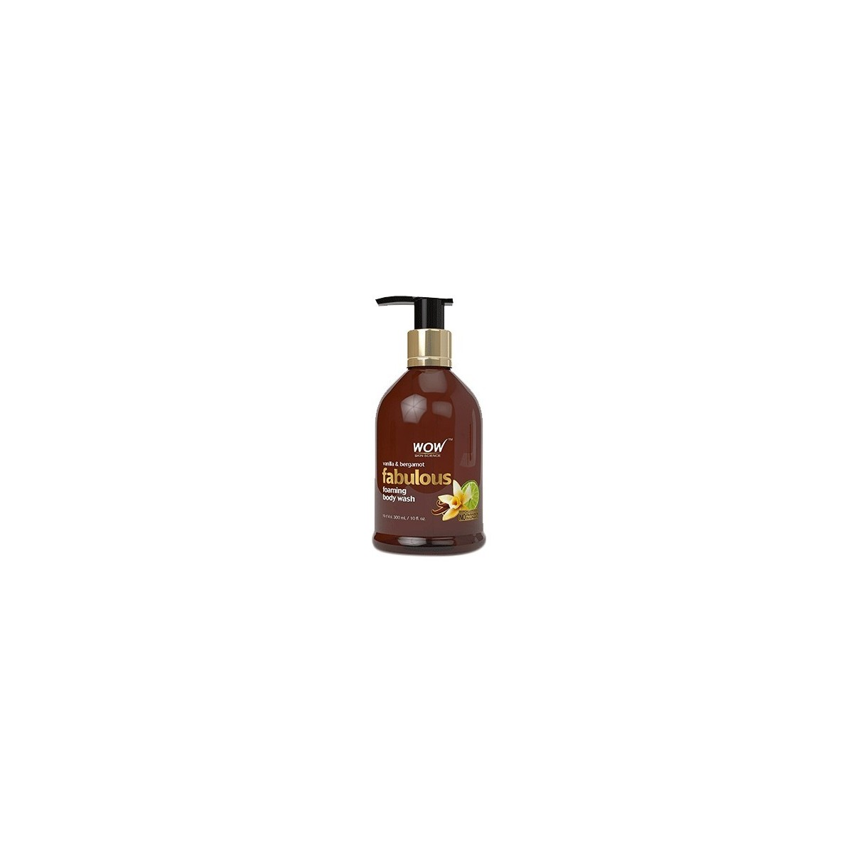 Wow Bergamot & Vanilla Foaming Body Wash - 300 Ml