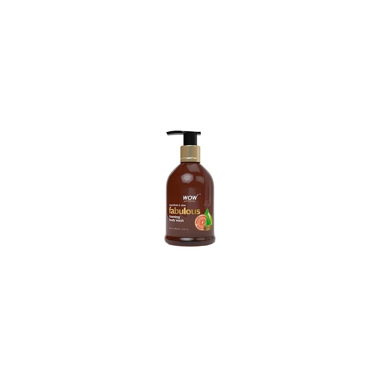 Wow Grapefruit & Aloe Foaming Body Wash - 300 Ml