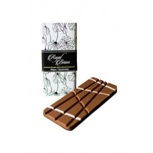 Royal Beans - Toasted Sesame Seed & Milk Chocolate Bar