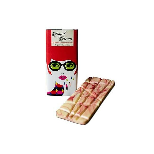 Royal Beans - Cranberry & White Chocolate Bar