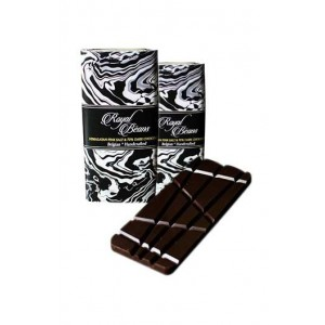 Royal Beans - Himalayan Pink Salt & 70% Dark Chocolate Bar (Pack Of 2)