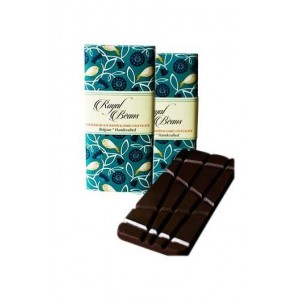 Royal Beans - Afghani Black Raisin & Dark Chocolate Bar (Pack Of 2)