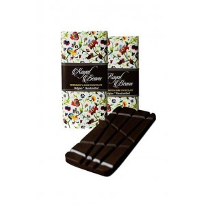 Royal Beans - Peppermint & Dark Chocolate Bar (Pack Of 2)