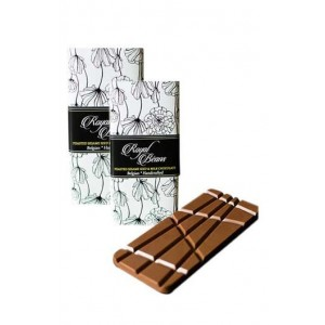 Royal Beans - Toasted Sesame Seed & Milk Chocolate Bar (Pack Of 2)