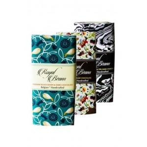 Royal Beans - Artisan Dark Chocolate Bars (Pack Of 3 )