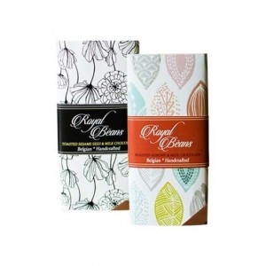 Royal Beans - Artisan Milk Chocolate Bars (Pack Of 2)