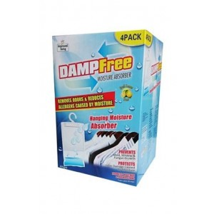 Dampfree Hanging Moisture Absorber Pack of 4 x 400g