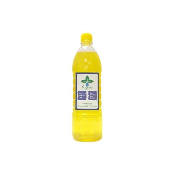 Bageera Naturals Cold Pressed Groundnut Oil 1.5 Ltr