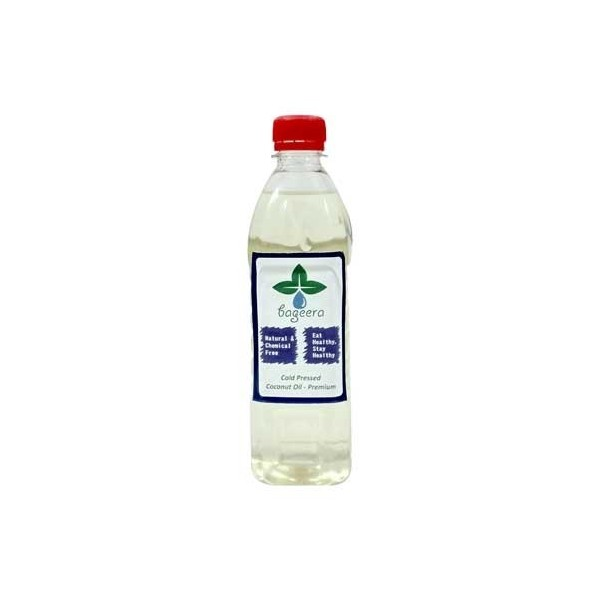 Bageera Naturals Cold Pressed Coconut Oil 1.5 Ltr