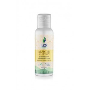 Lass Naturals Lass Almond And Saffron Moisturising Lotion