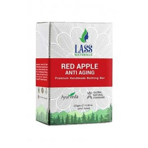 Lass Naturals Red Apple Anti Aging soap