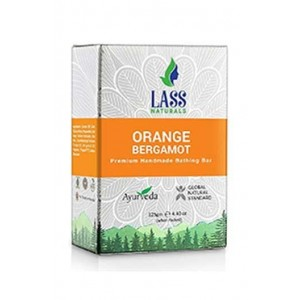 Lass Naturals Orange & Bergamot soap