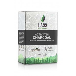 Lass Naturals Activated Charcoal soap