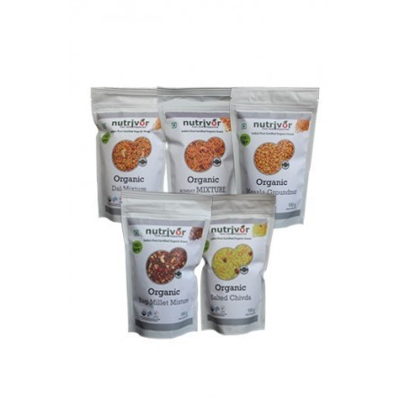 Nutrivor light weight snacks combo