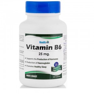 Healthvit Vitamin B6 25 Mg...