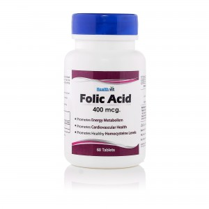 Healthvit Folic Acid 400 Mcg 60 Tablets