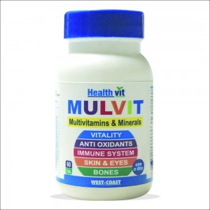 Healthvit Mulvit Multivitamins 60 Tablets