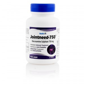 Healthvit Jointneed-750 Glucosamine Sulphate 750 mg 60 Tablets