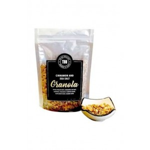 To Be Healthy Cinnamon and sea salt granola