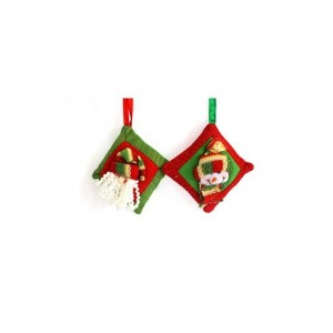 Jus' Trufs Christmas Empty Pilllow - 2 Pcs