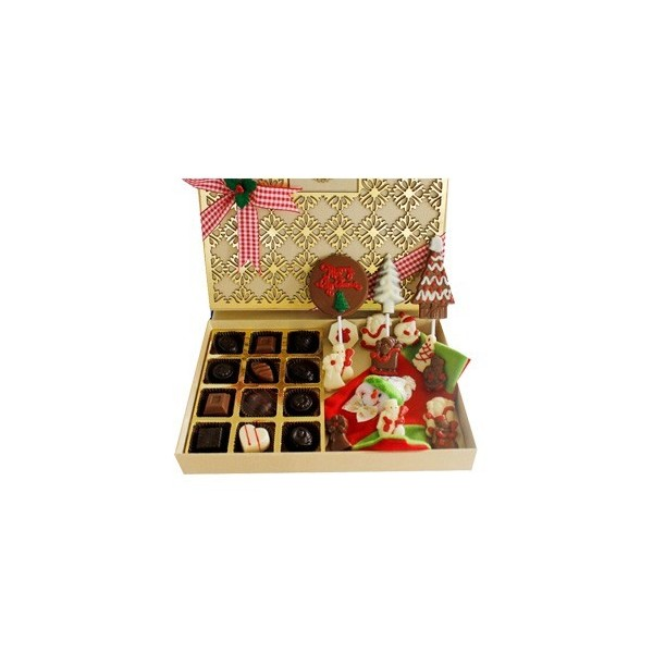 Jus' Trufs Christmas And New Year Chocolates Designer Treat