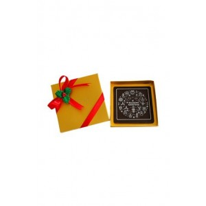 Jus' Trufs Seasons Greeting Chocolate Bar