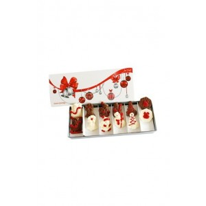 Jus' Trufs Christmas Chocolate Cheer